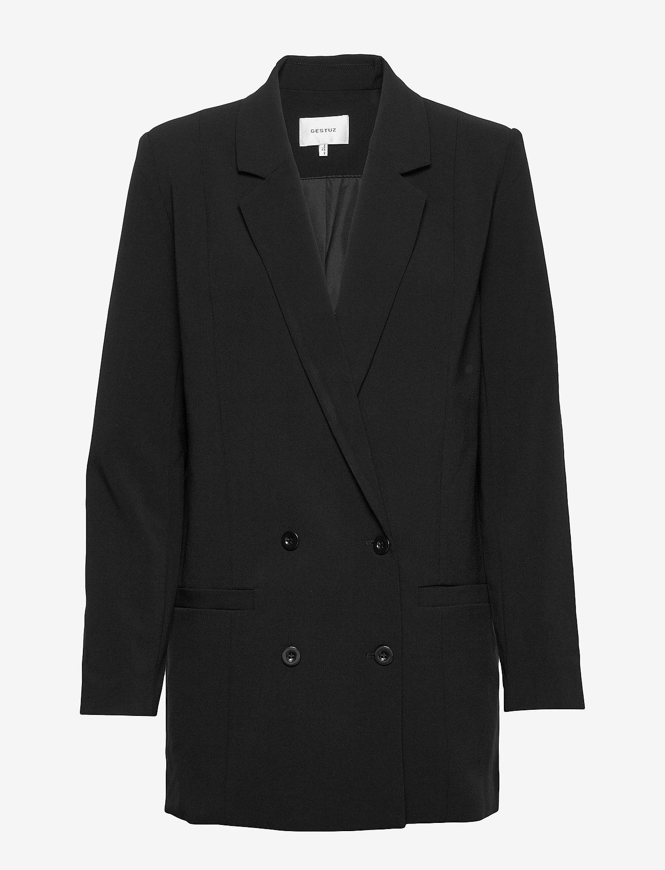 Gestuz - JoelleGZ Blazer NOOS - oversized blazere - black - 1