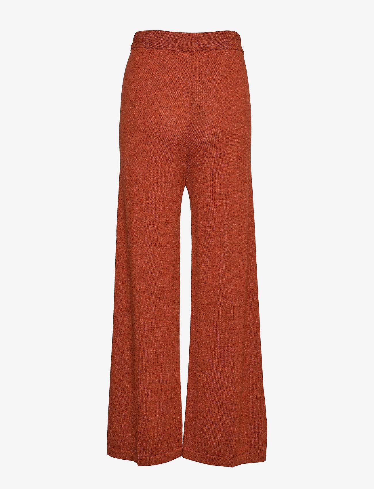 Gestuz - ThelmaGZ culotte AO19 - bukser med brede ben - rooibos tea melange - 1