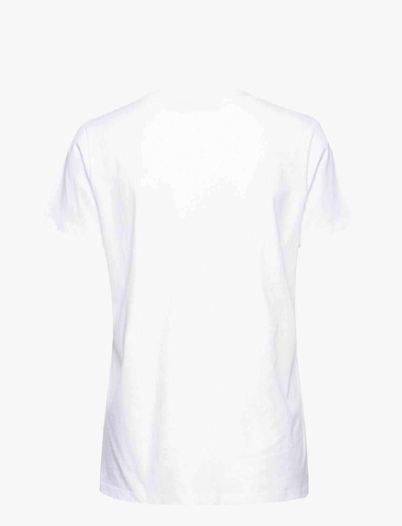 Gestuz - MoonGZ tee ZE1 19 - printed t-shirts - bright white