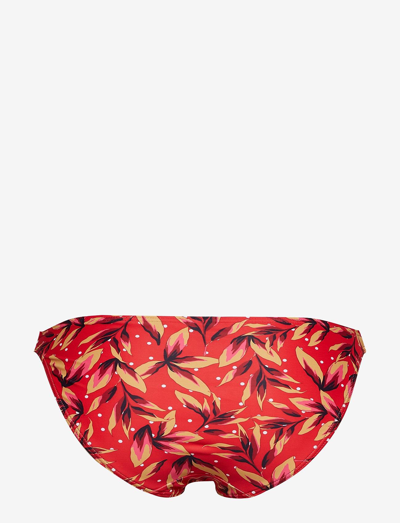 Gestuz - PileaGZ bikini bottom B - bikini underdele - red flower - 1