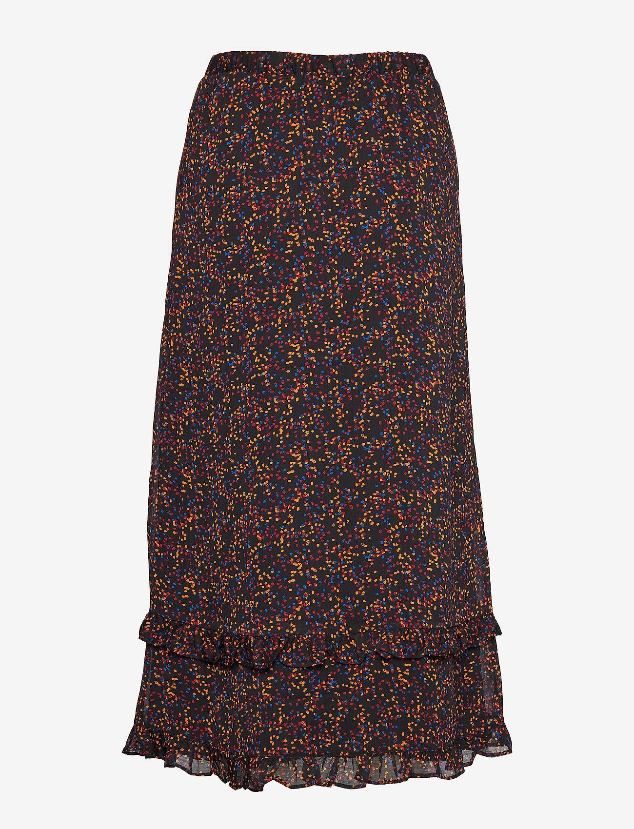 Gestuz - AlminaGZ skirt MA19 - midi - black multi dot
