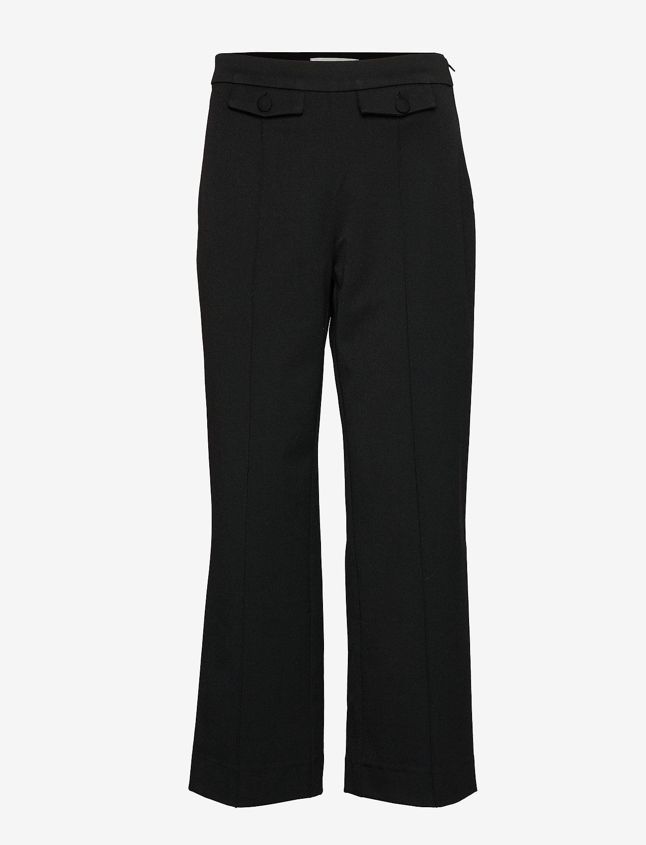 Gestuz - MilaGZ sid culottes MA19 - suorat housut - black