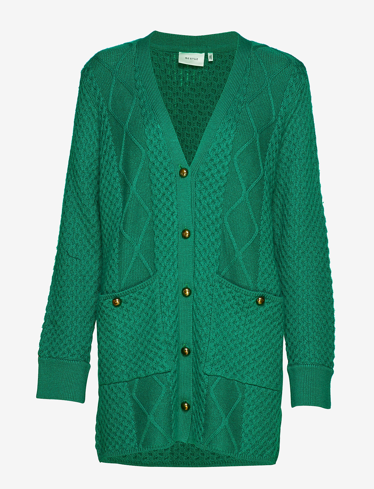 Gestuz - MichaGZ cardigan MA19 - cardigans - ultramarine green - 1