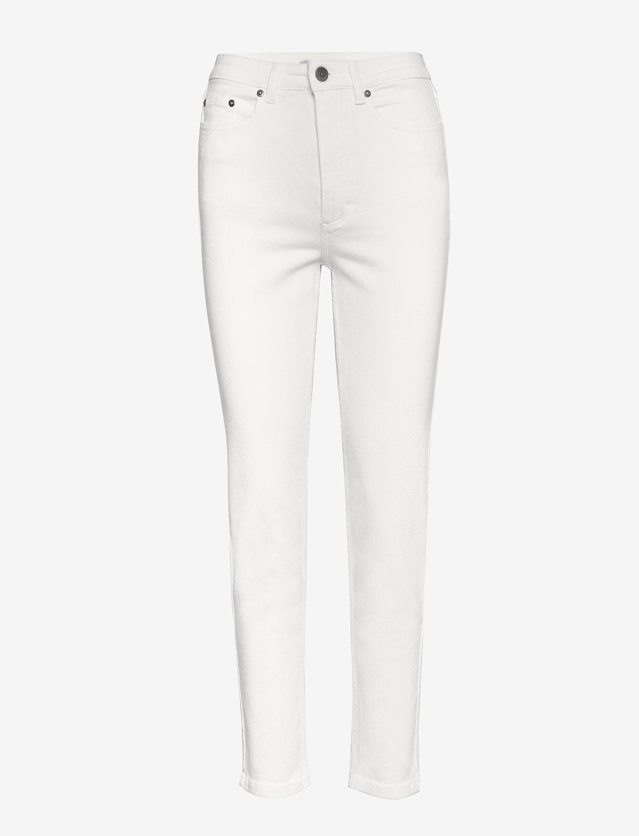 Gestuz - AstridGZ mom jeans NOOS - Äitiysfarkut - bright white