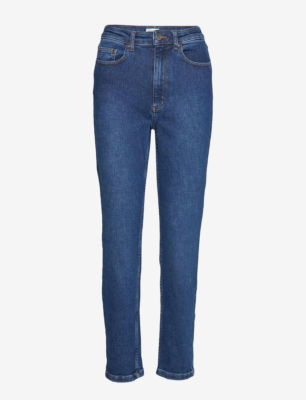Gestuz - AstridGZ HW slim jeans NOOS - mom jeans - denim blue - 0
