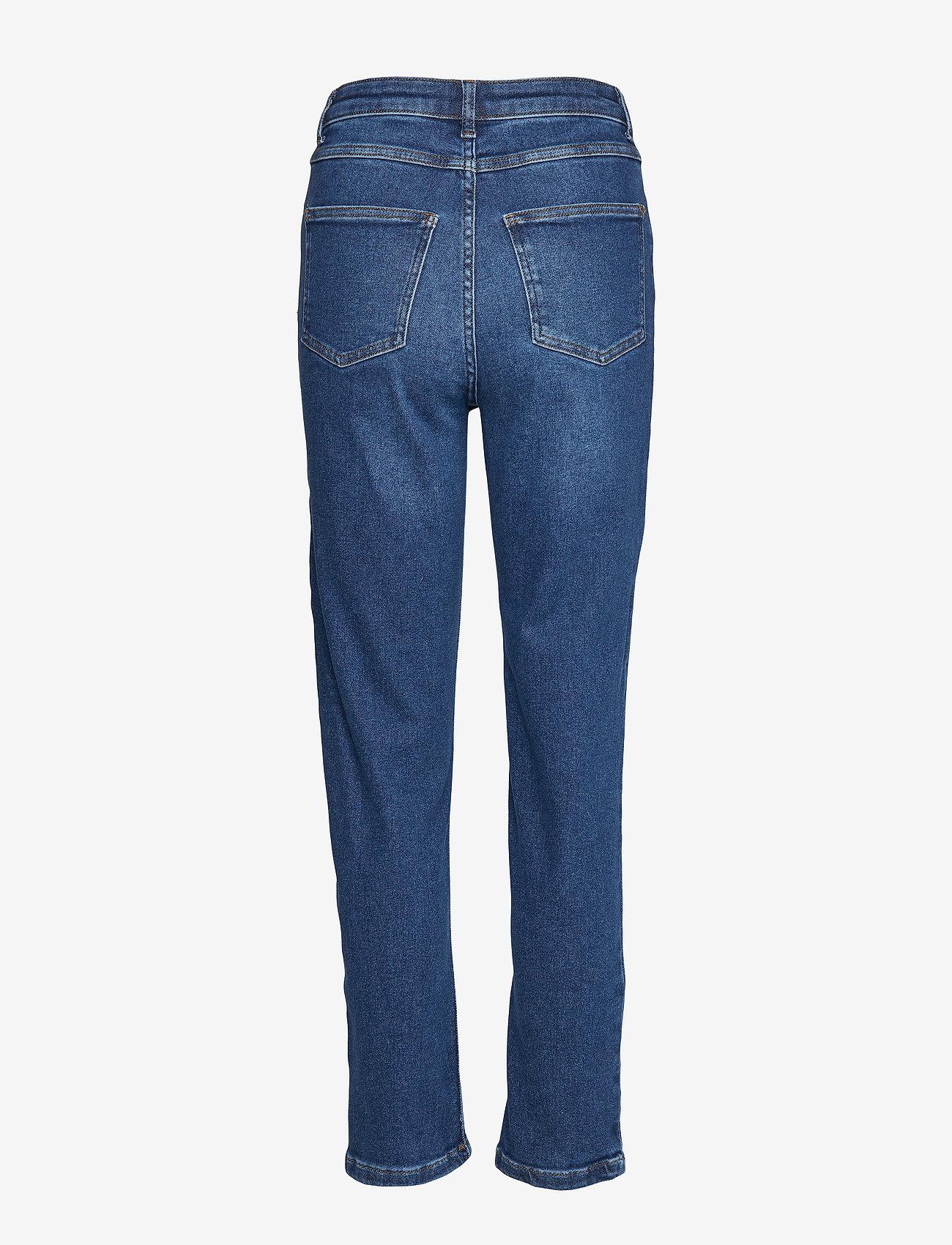 Gestuz - AstridGZ HW slim jeans NOOS - mom jeans - denim blue - 1