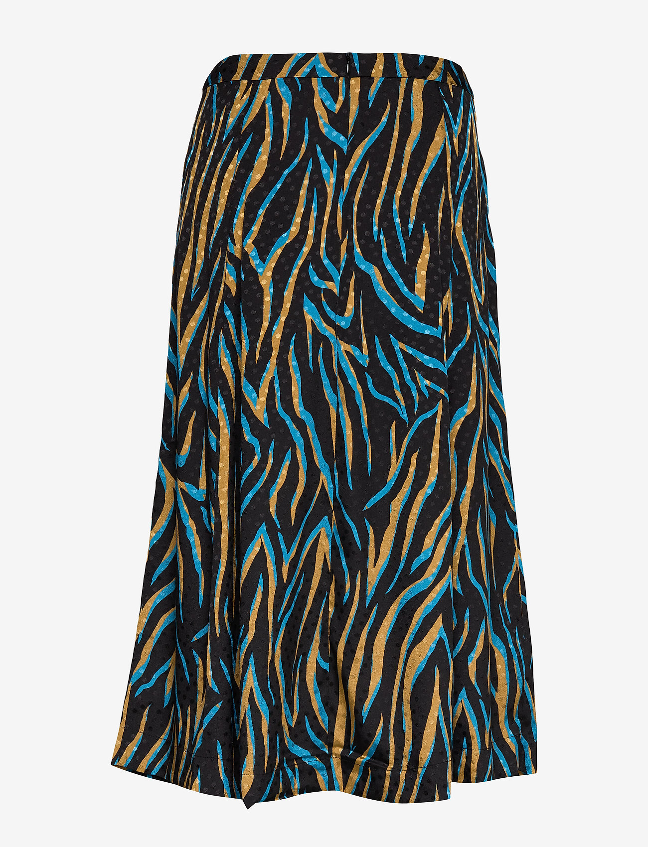 Gestuz - UzmaGZ skirt YE19 - jupes midi - blue branch