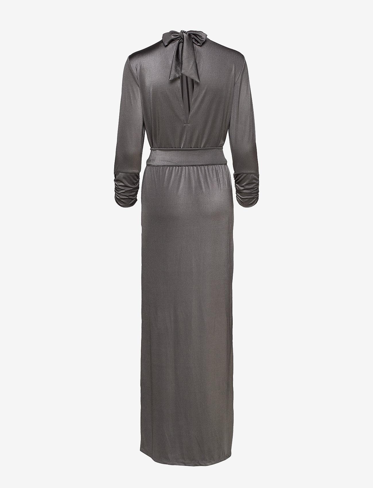Gestuz - RizaGZ dress YE19 - robes de fête - gray flannel