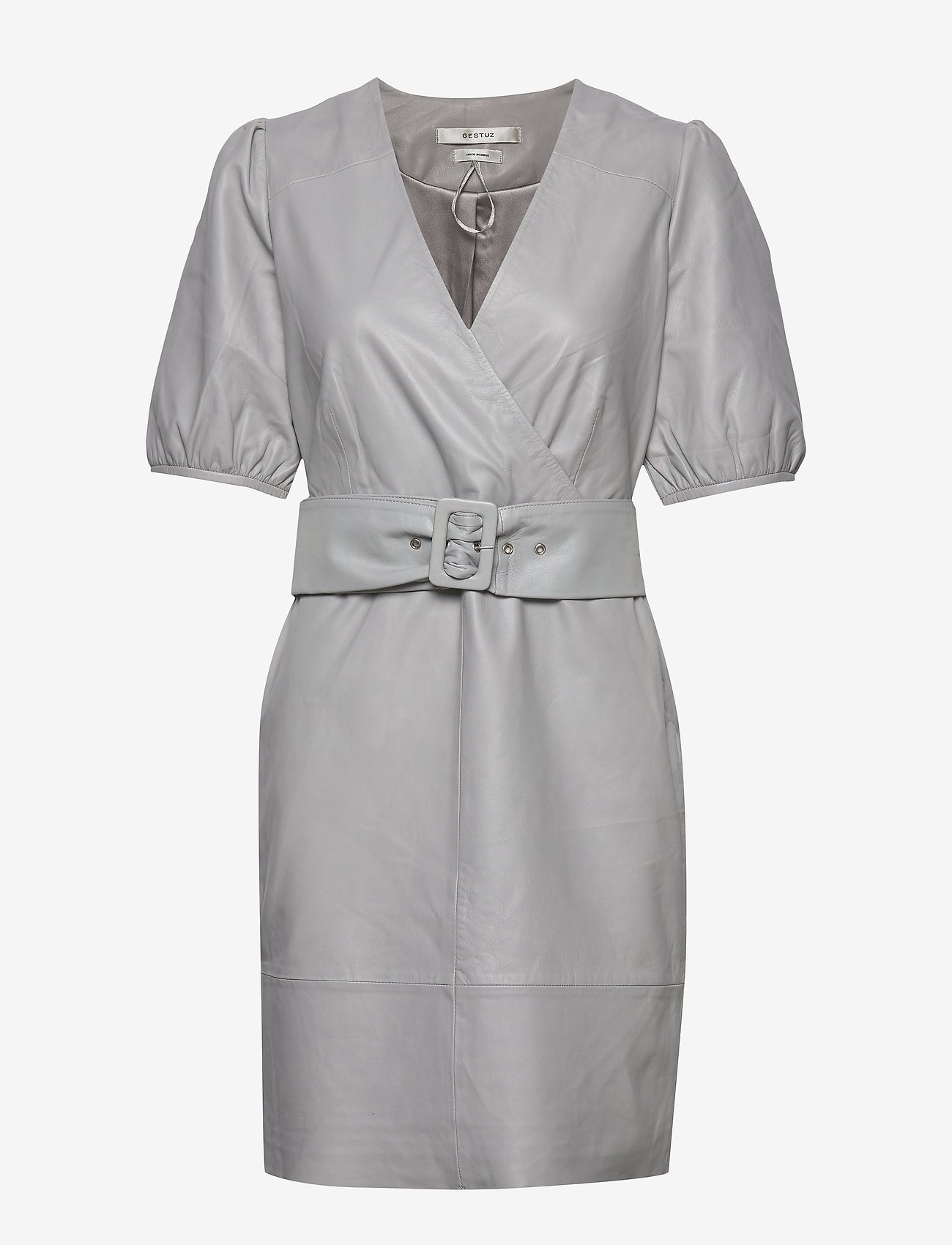 Gestuz - WalmaGZ dress YE19 - wrap dresses - alloy