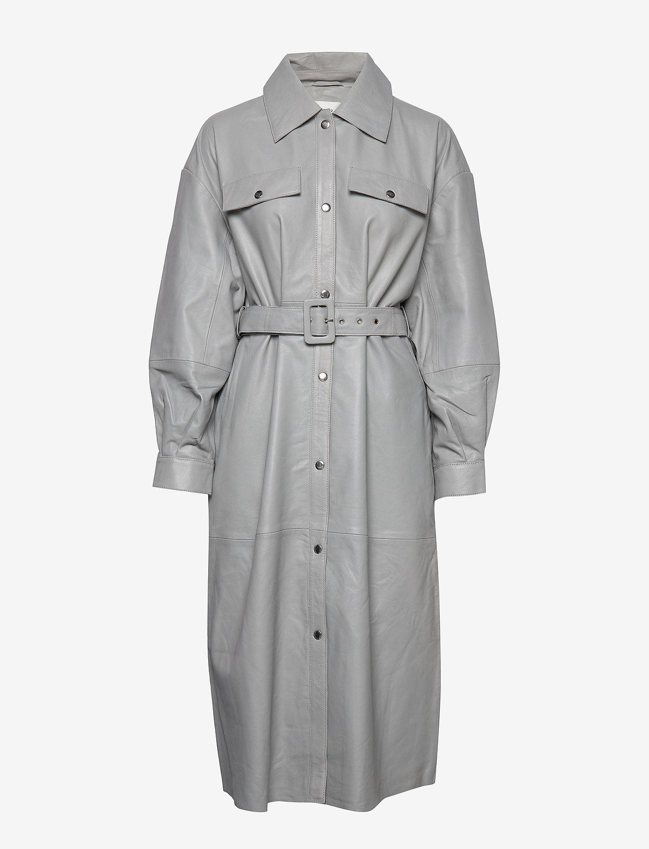 Gestuz - RobertaGZ OZ jacket YE 2019 - manteaux - alloy