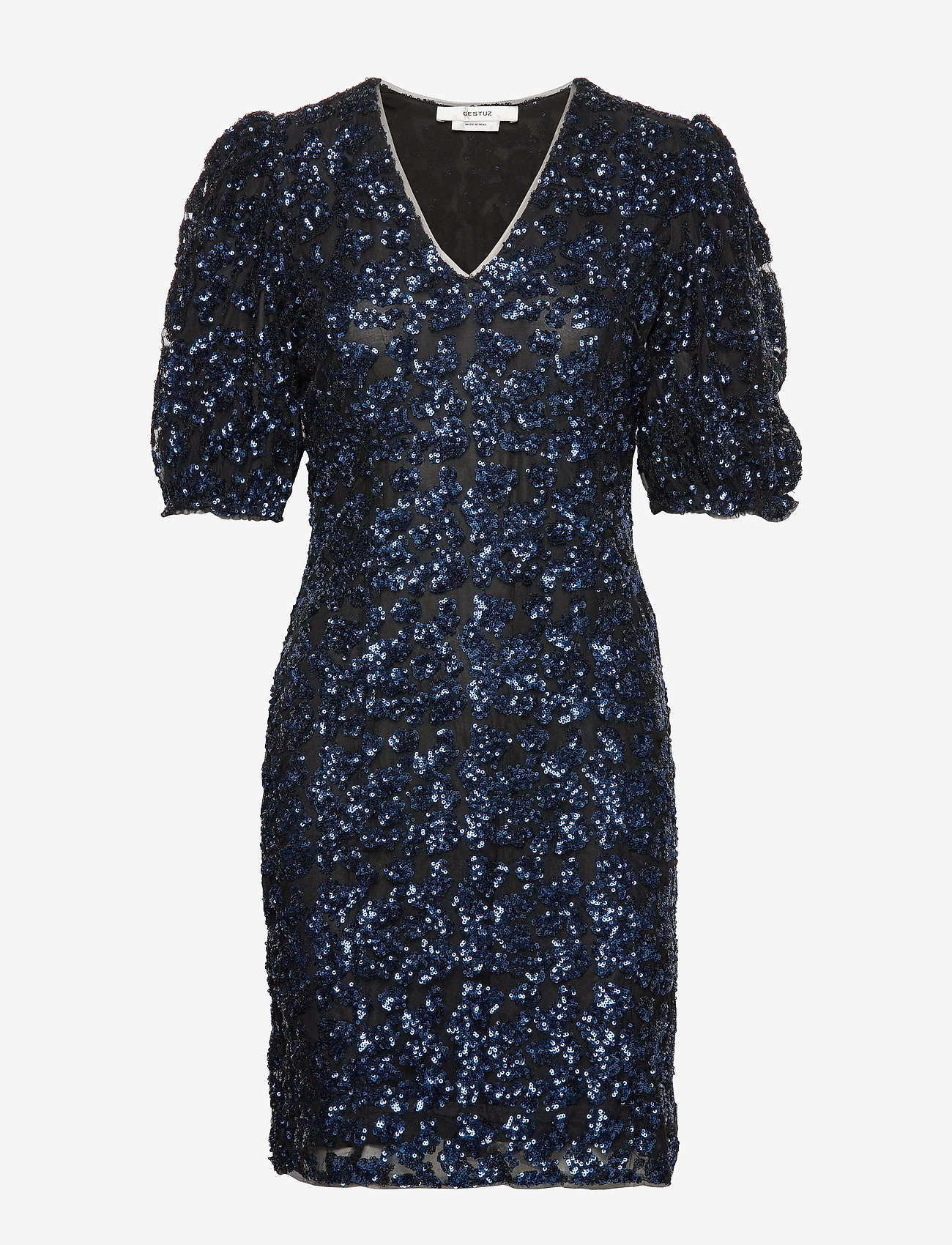 Gestuz - ElviraGZ dress YE19 - robes longeur du midi - blue