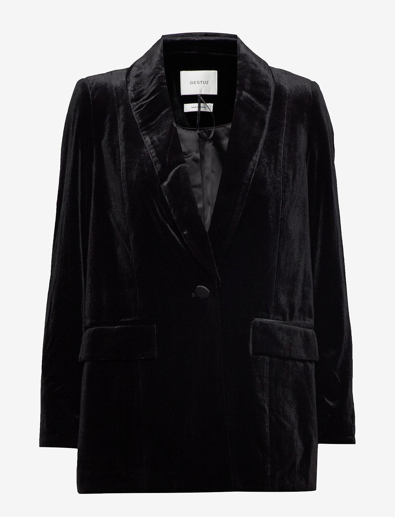 Gestuz - AdalizGZ blazer YE19 - vestes tailleur - black
