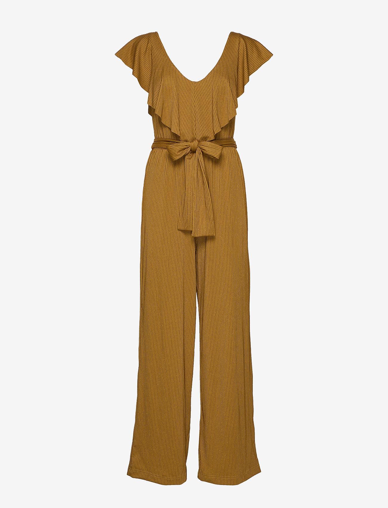 Gestuz - JustaGZ jumpsuit YE19 - combinaisons - bone brown