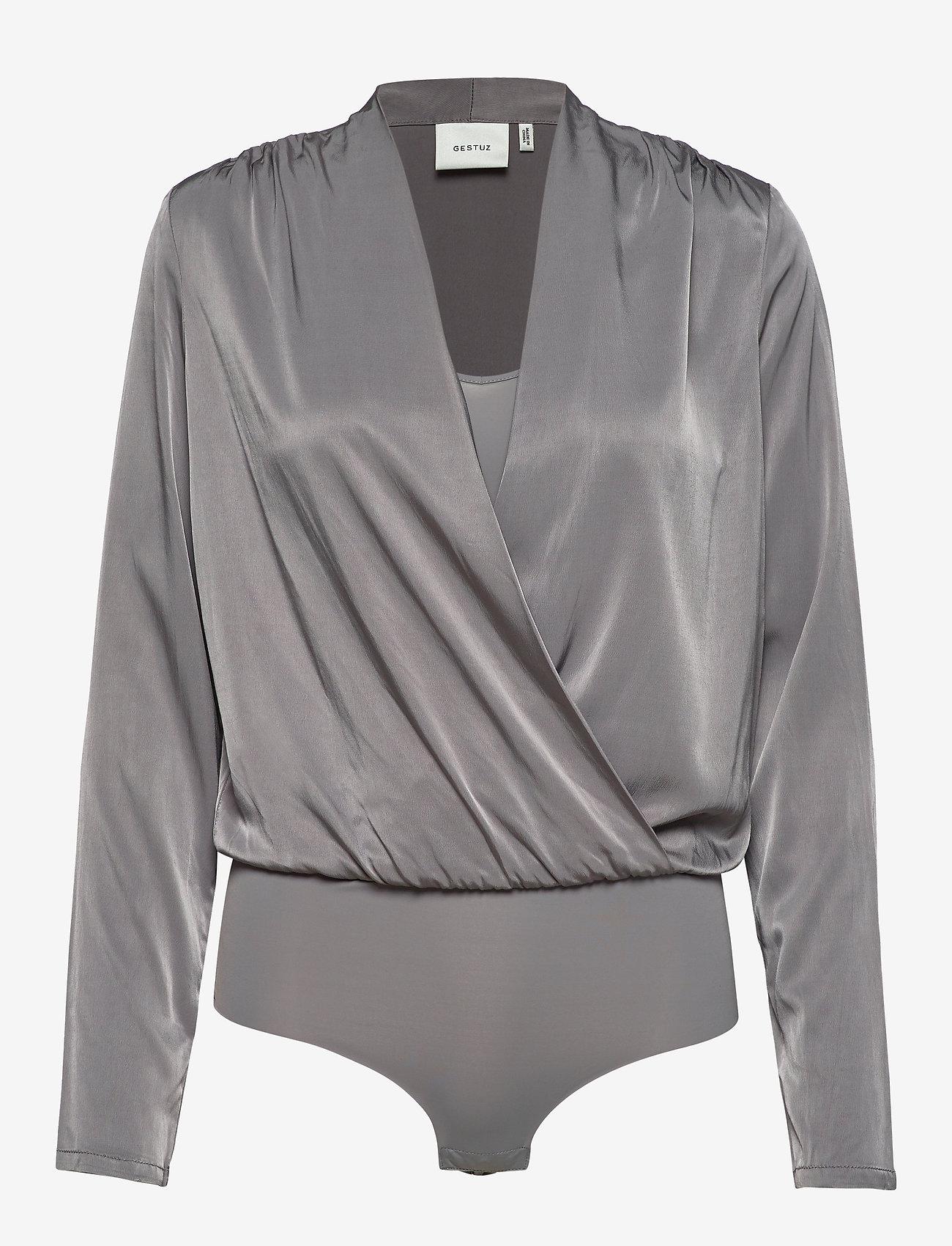 Gestuz - RosieGZ body - bodies - gray flannel