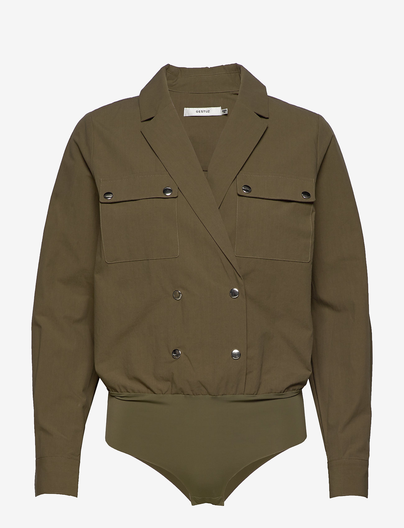 Gestuz - AdalineGZ shirt body MS20 - body - capers - 0
