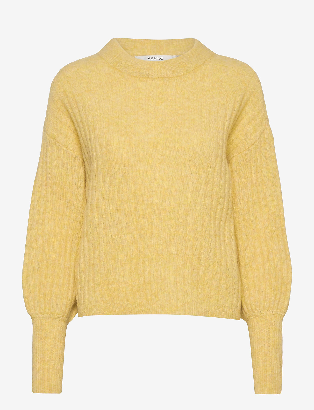 Gestuz - AlpiaGZ pullover MS20 - trøjer - dried moss melange - 1
