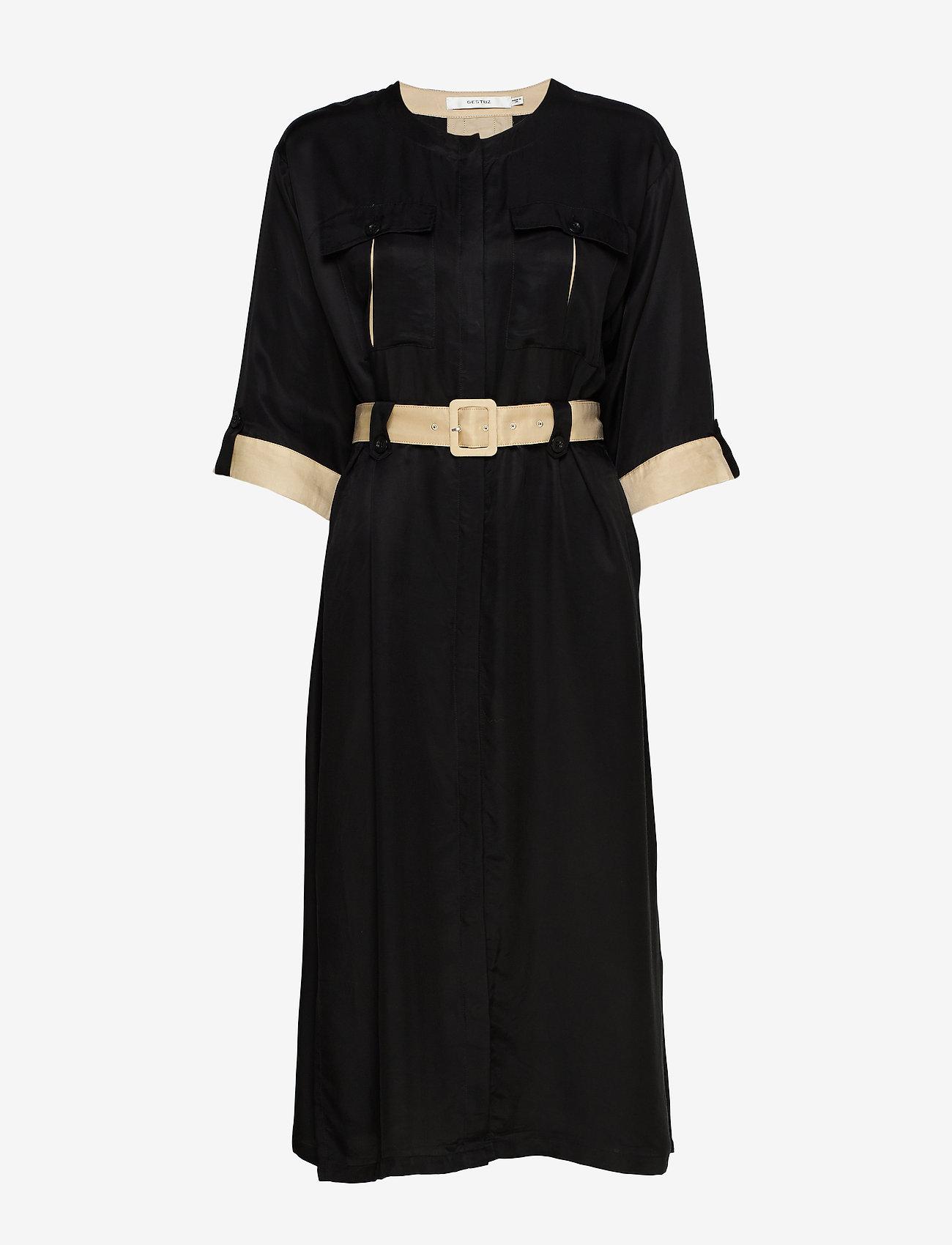 Lorahgz Dress Ms20 (Black) - Gestuz c9B3ht