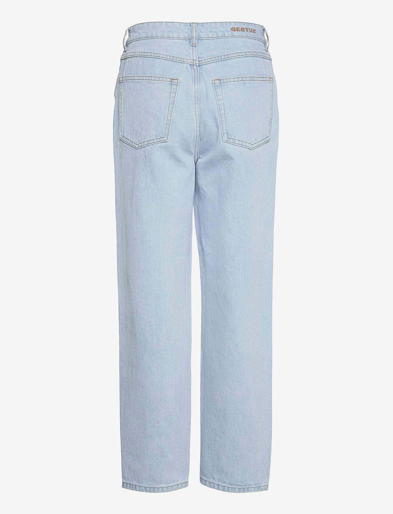 Gestuz - DacyGZ MOM jeans - straight regular - light blue vintage - 2