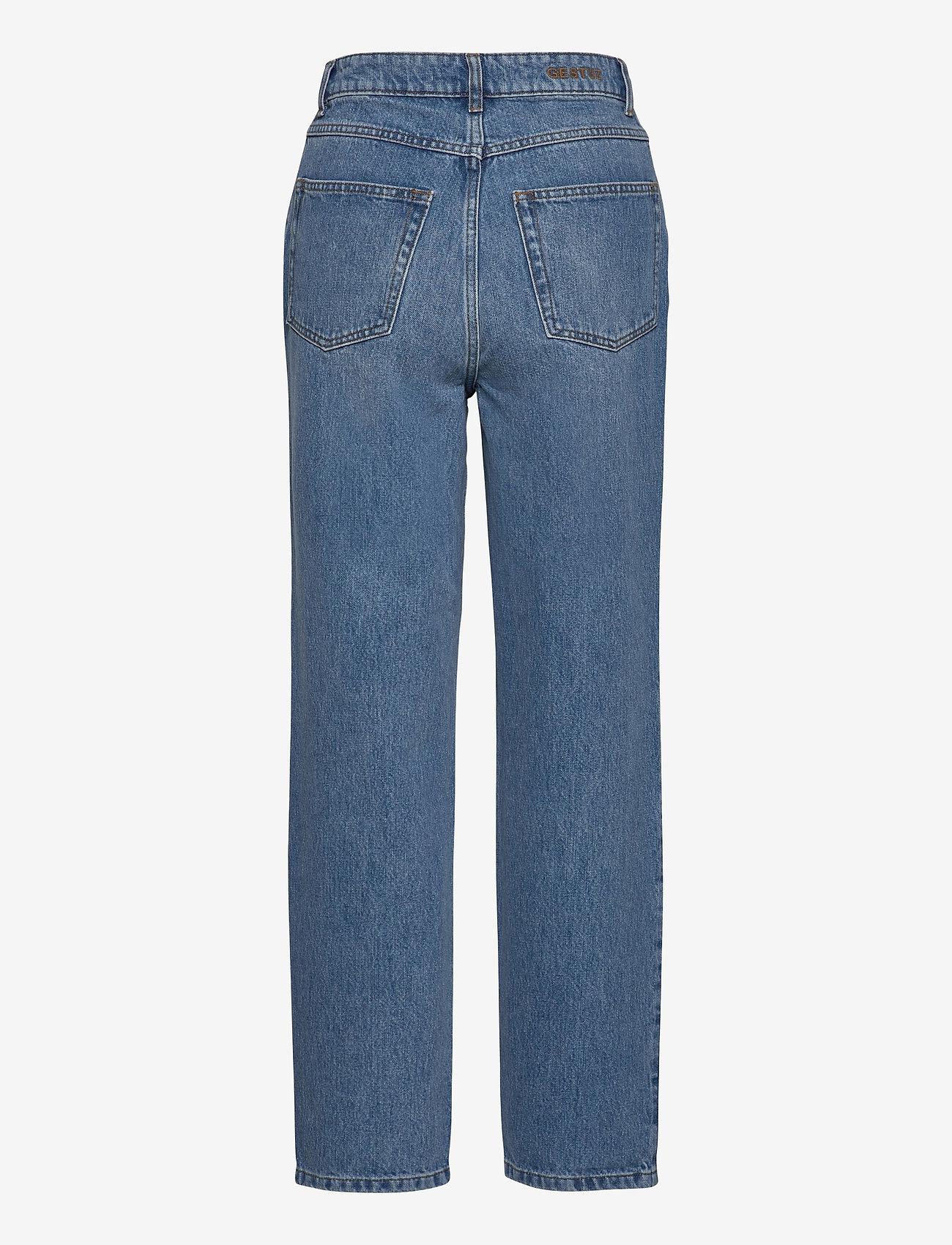 Gestuz - DacyGZ MOM jeans - straight regular - medium blue - 2