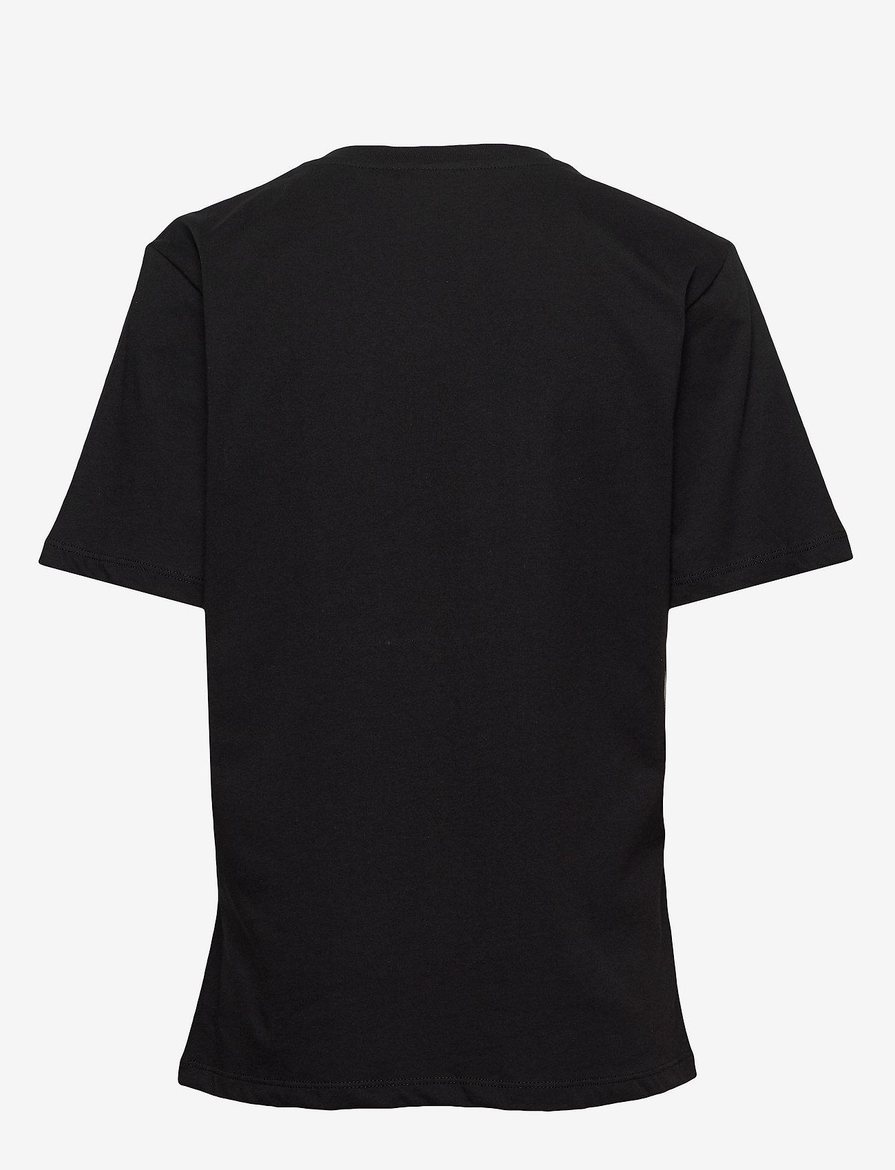 Gestuz - LivGZ tee NOOS - t-shirts - black - 1