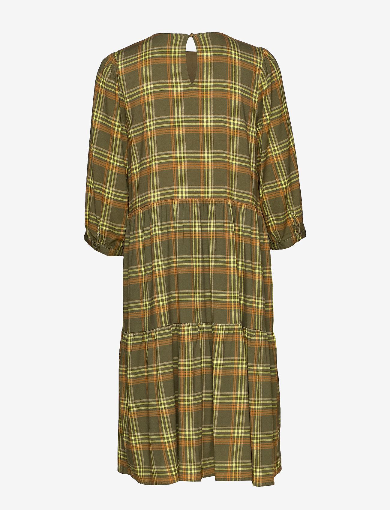 Cadygz Dress Ms20 (Army Check) (59.50 €) - Gestuz ilJq5