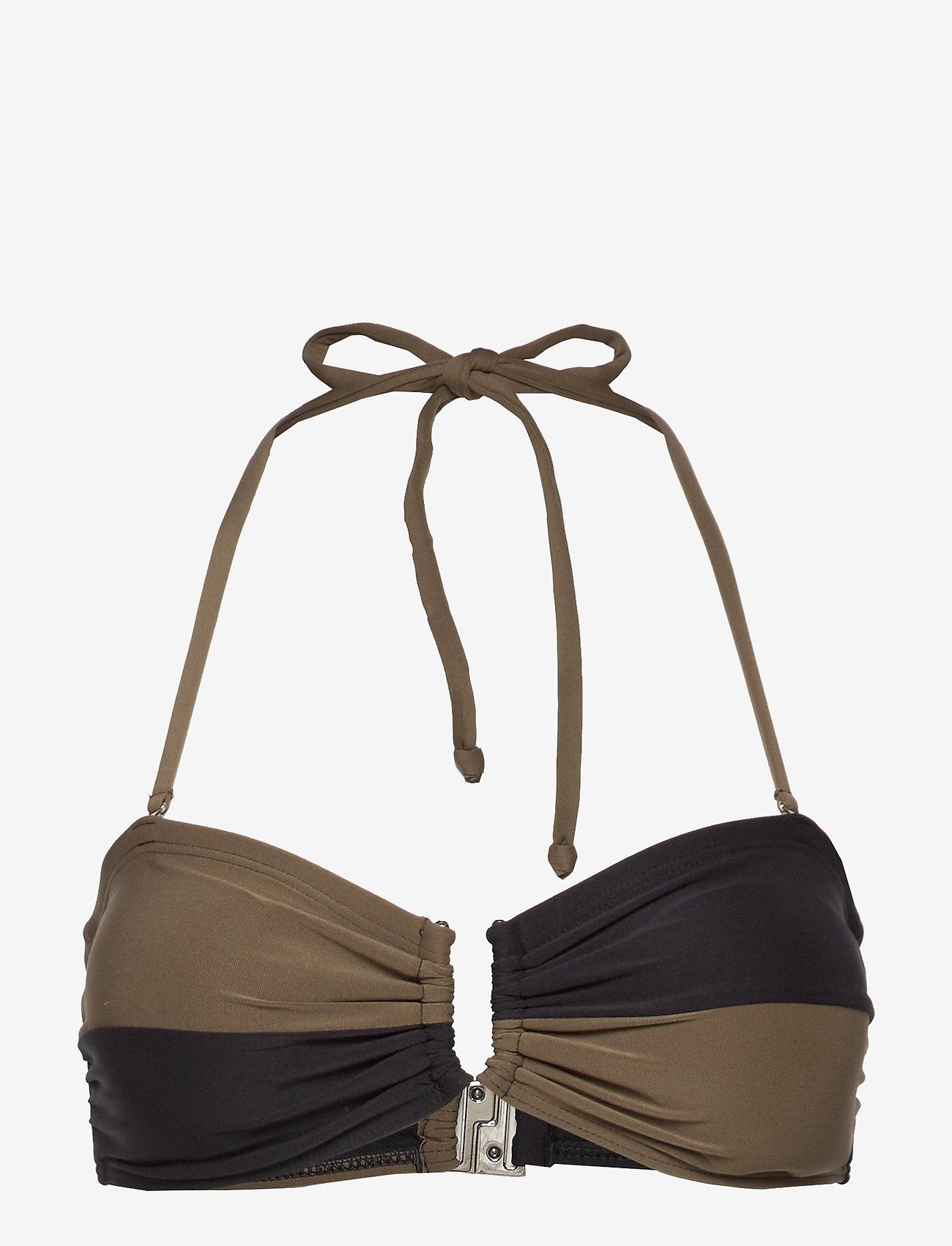 Gestuz - CetaGZ bikini top MS20 - góry strojów kąpielowych - capers - 0