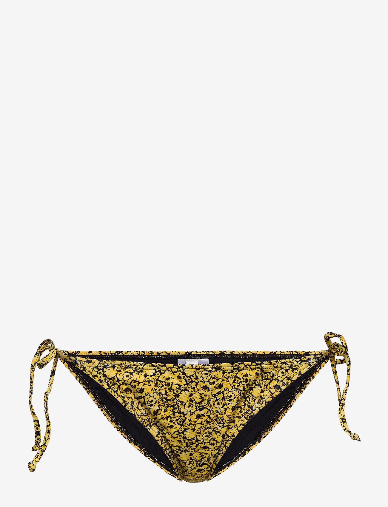 Gestuz - PilGZ bikini bottom - bikini underdele - yellow mini flower - 0
