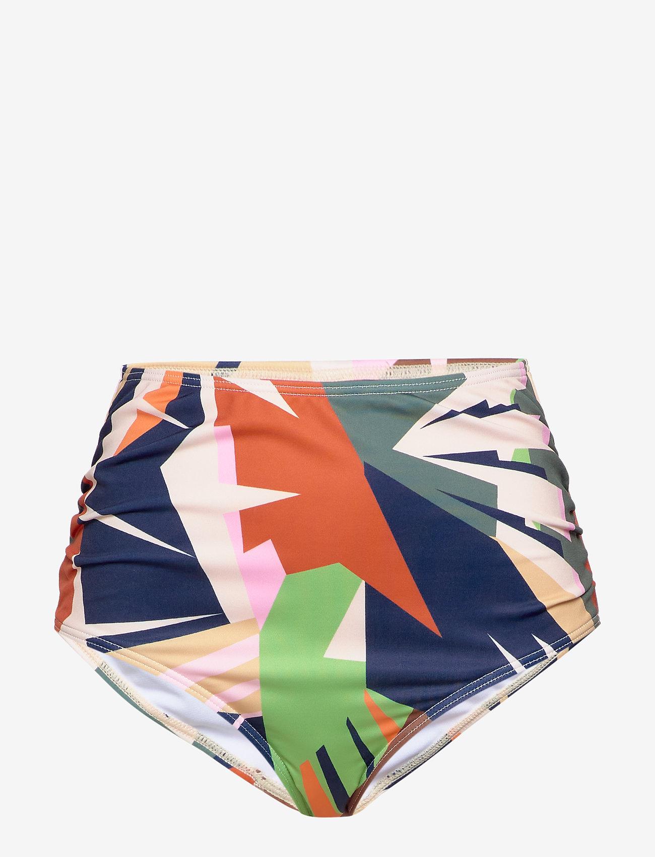 Gestuz - ArtyGZ bikini bottom - bikini underdele - pink multi art - 0