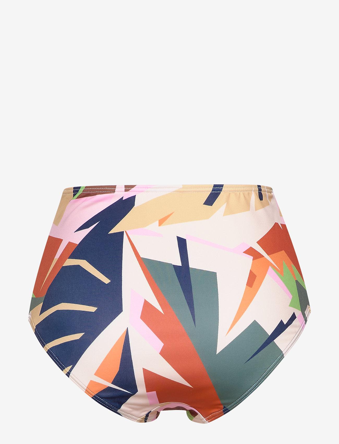 Gestuz - ArtyGZ bikini bottom - bikini underdele - pink multi art - 1