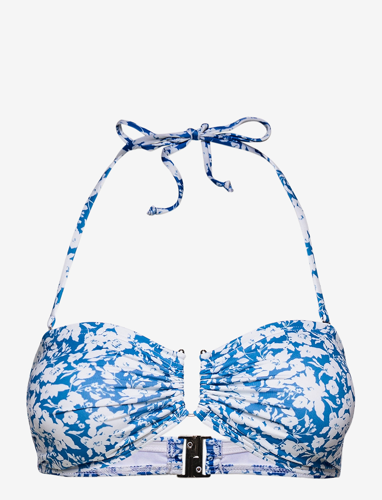 Gestuz - CanaGZ bikini top - bikini overdele - mini blue flowe aop - 0