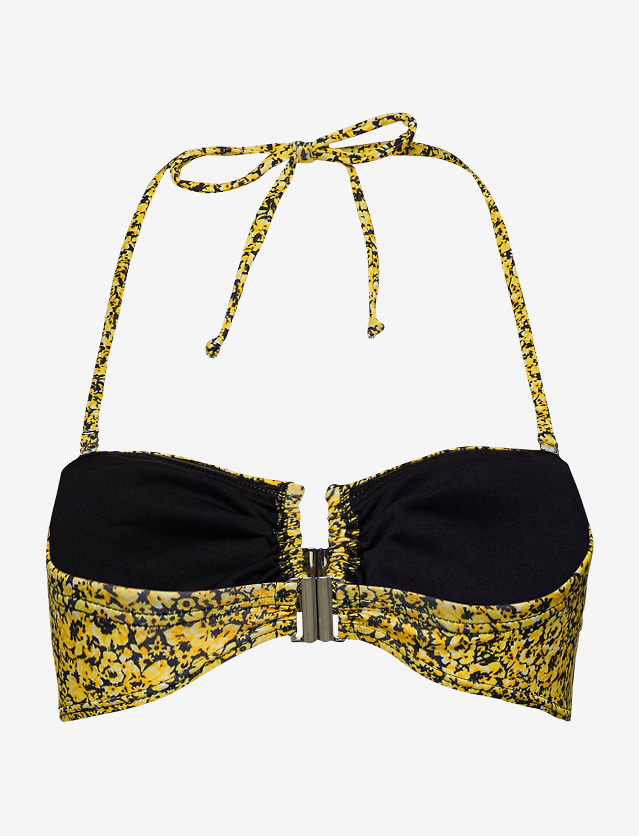 Gestuz - CanaGZ bikini top - bikini overdele - yellow mini flower - 1