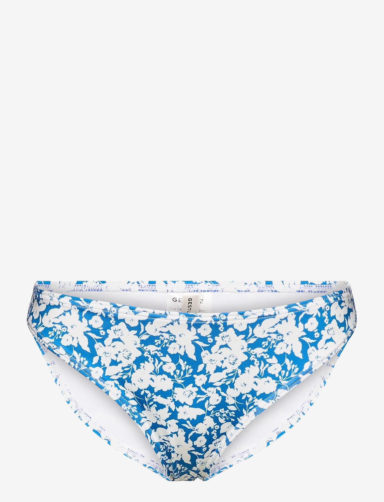 Gestuz - CanaGZ bikini bottom - bikini underdele - mini blue flowe aop - 0