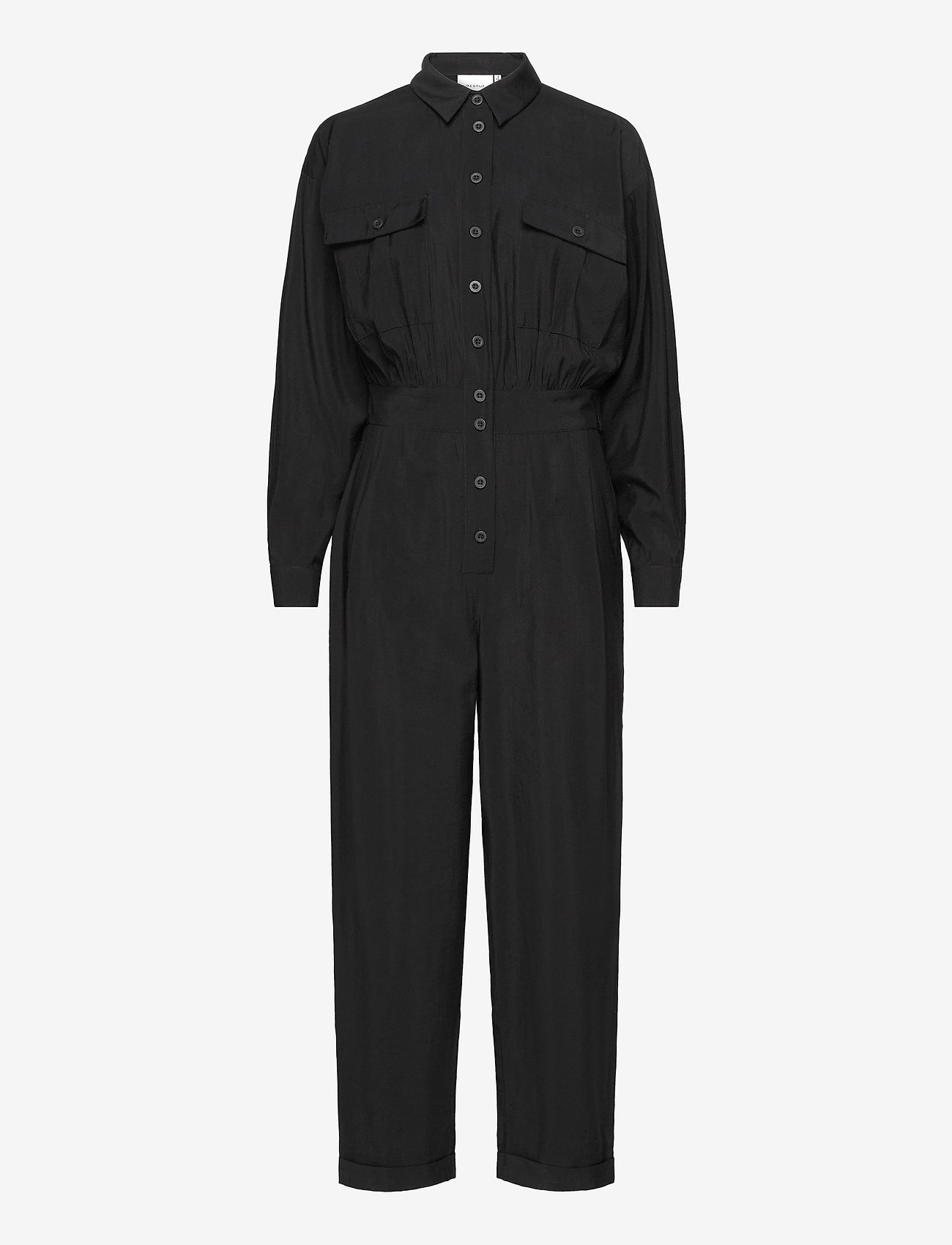 Gestuz - ContineGZ jumpsuit HS20 - combinaisons - black - 1