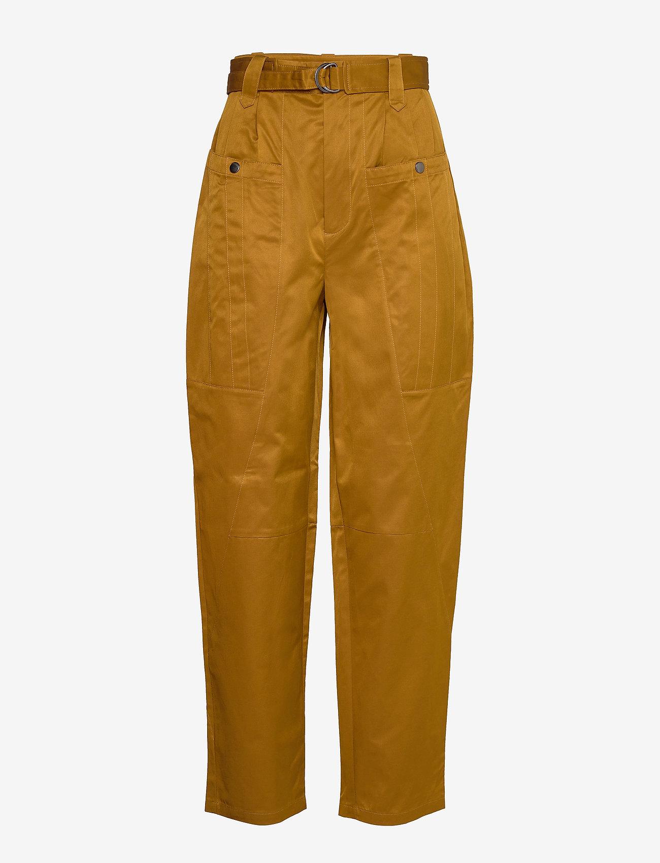 Gestuz - AsterGZ pants AO20 - bukser med brede ben - tapenade - 1