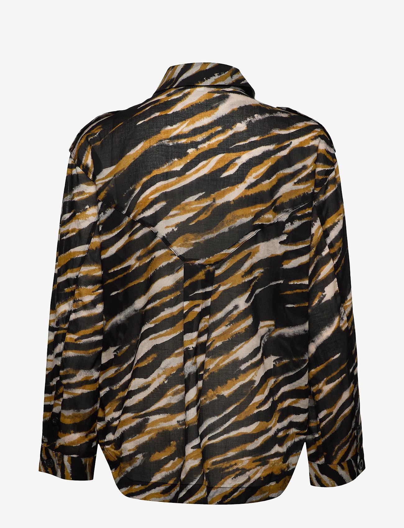 Gestuz - CrisantaGZ shirt AO20 - chemises à manches longues - army tiger - 1