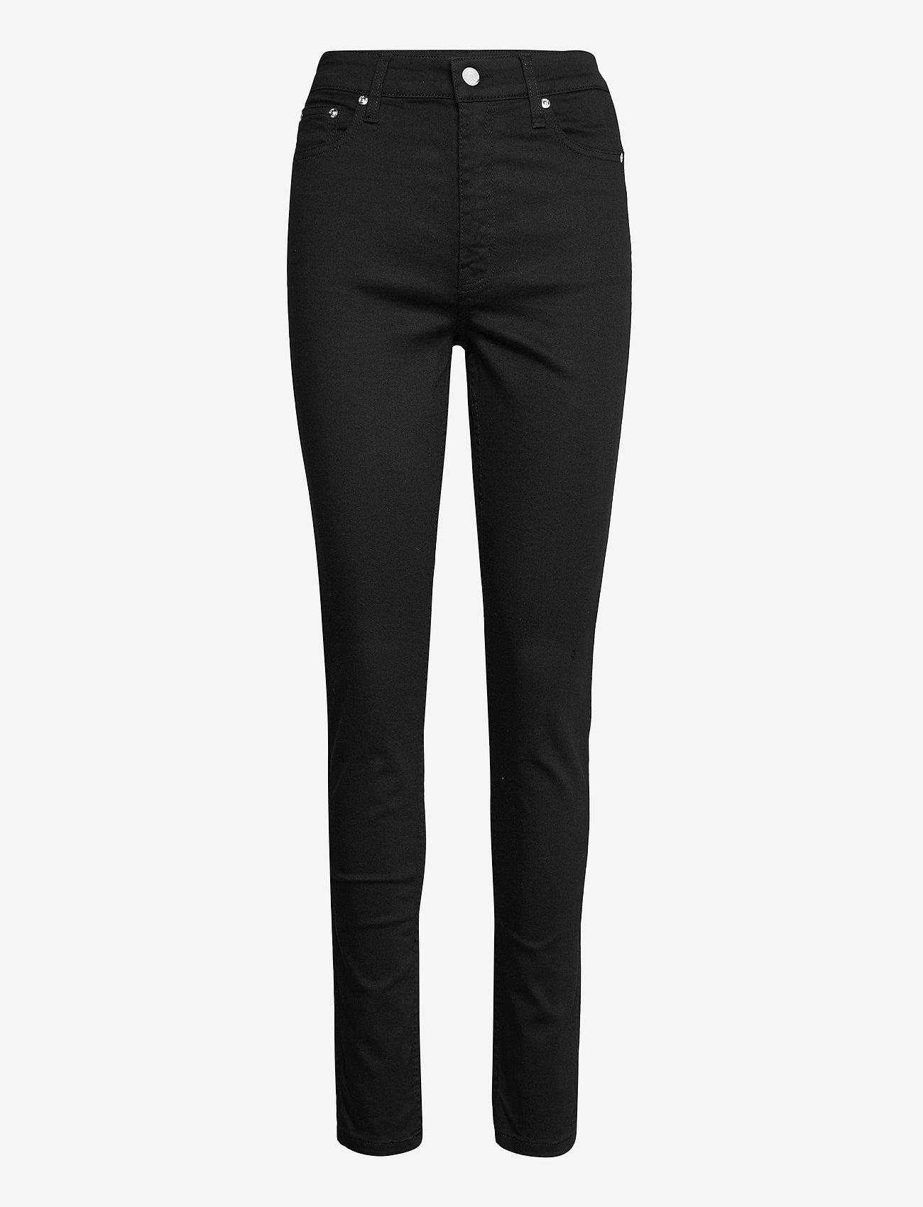Gestuz - EmilyGZ HW skinny jeans black - skinny jeans - black - 1