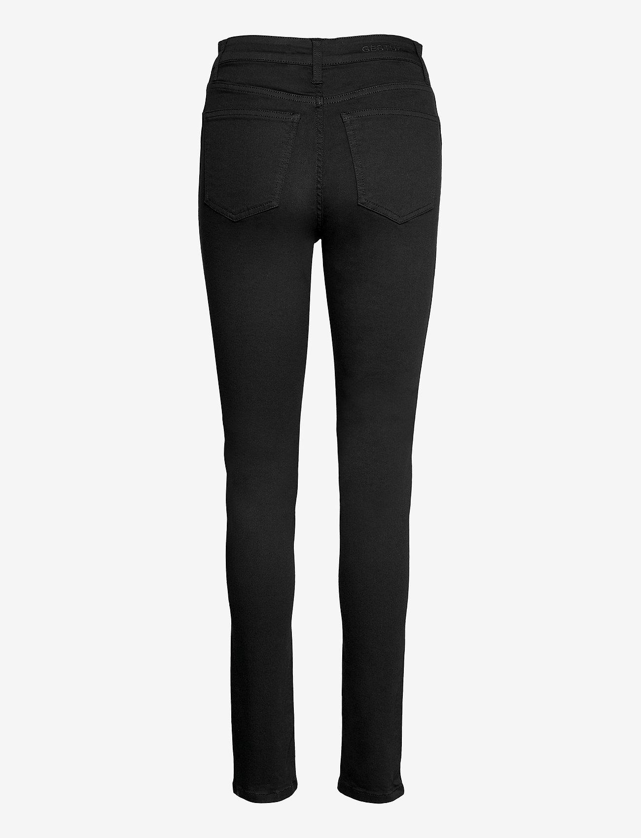 Gestuz - EmilyGZ HW skinny jeans black - skinny jeans - black - 2