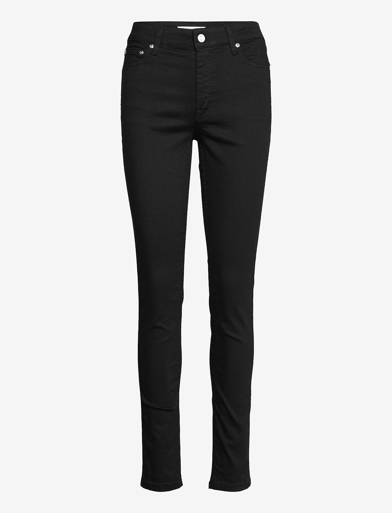 Gestuz - MaggieGZ MW skinny jeans NOOS black - skinny jeans - black - 1