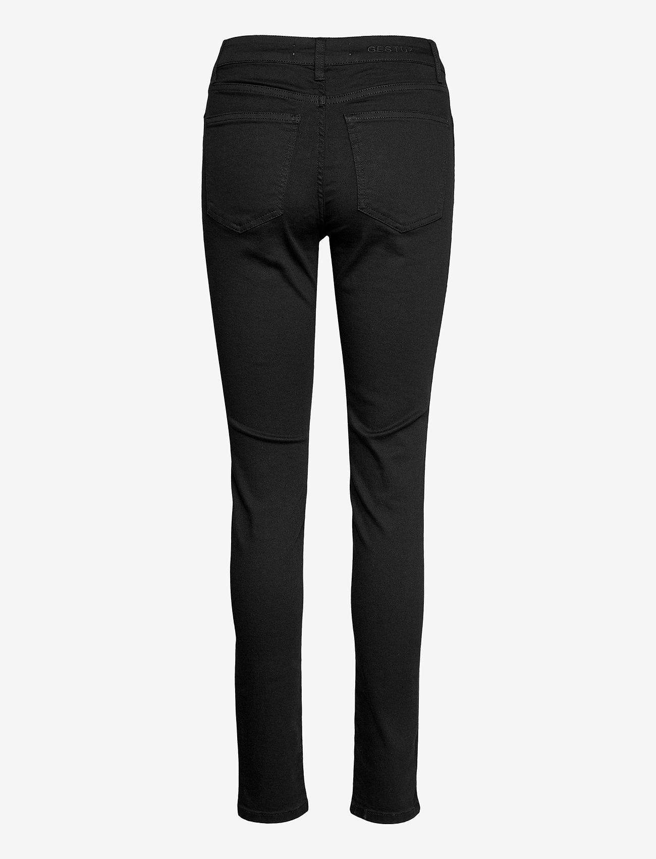 Gestuz - MaggieGZ MW skinny jeans NOOS black - skinny jeans - black - 2
