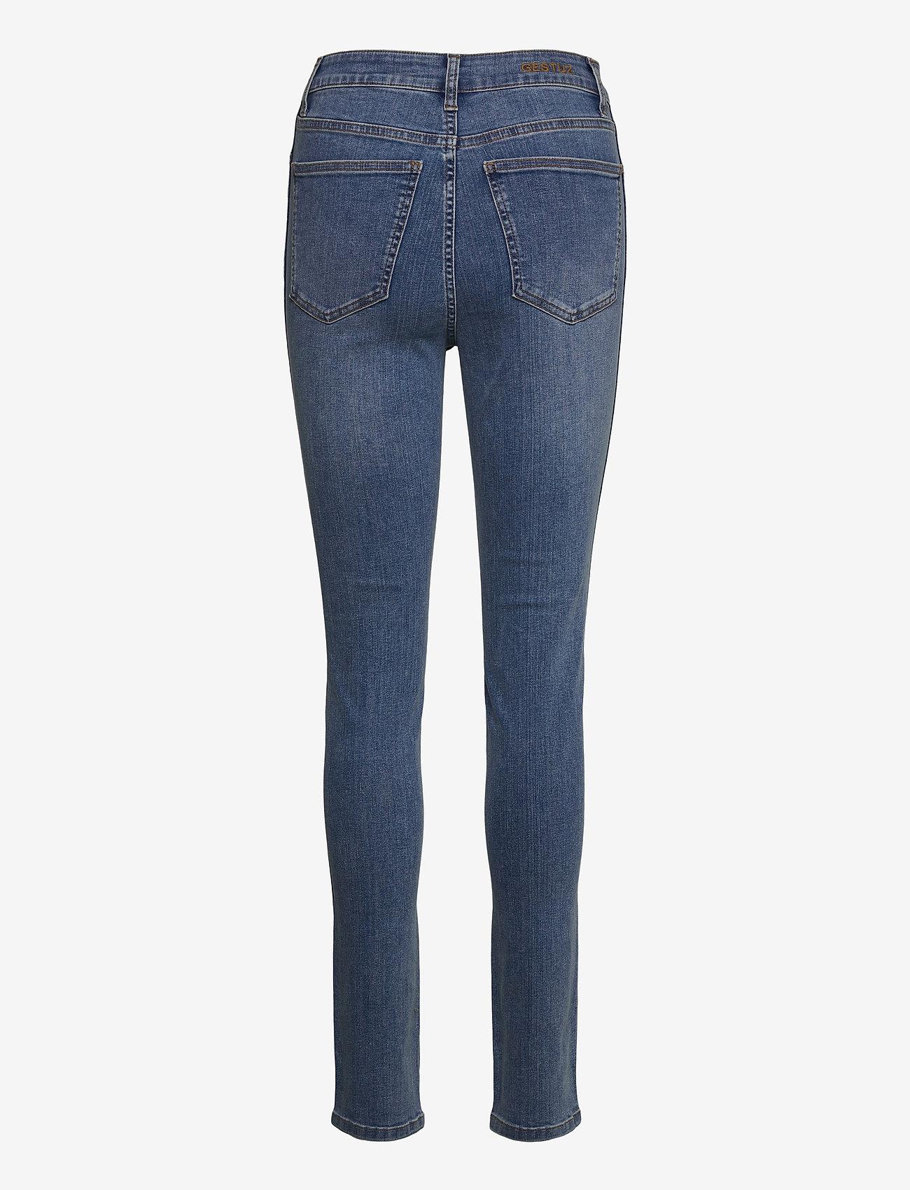 Gestuz - EmilyGZ HW skinny jeans NOOS - skinny jeans - l.a. blue - 2