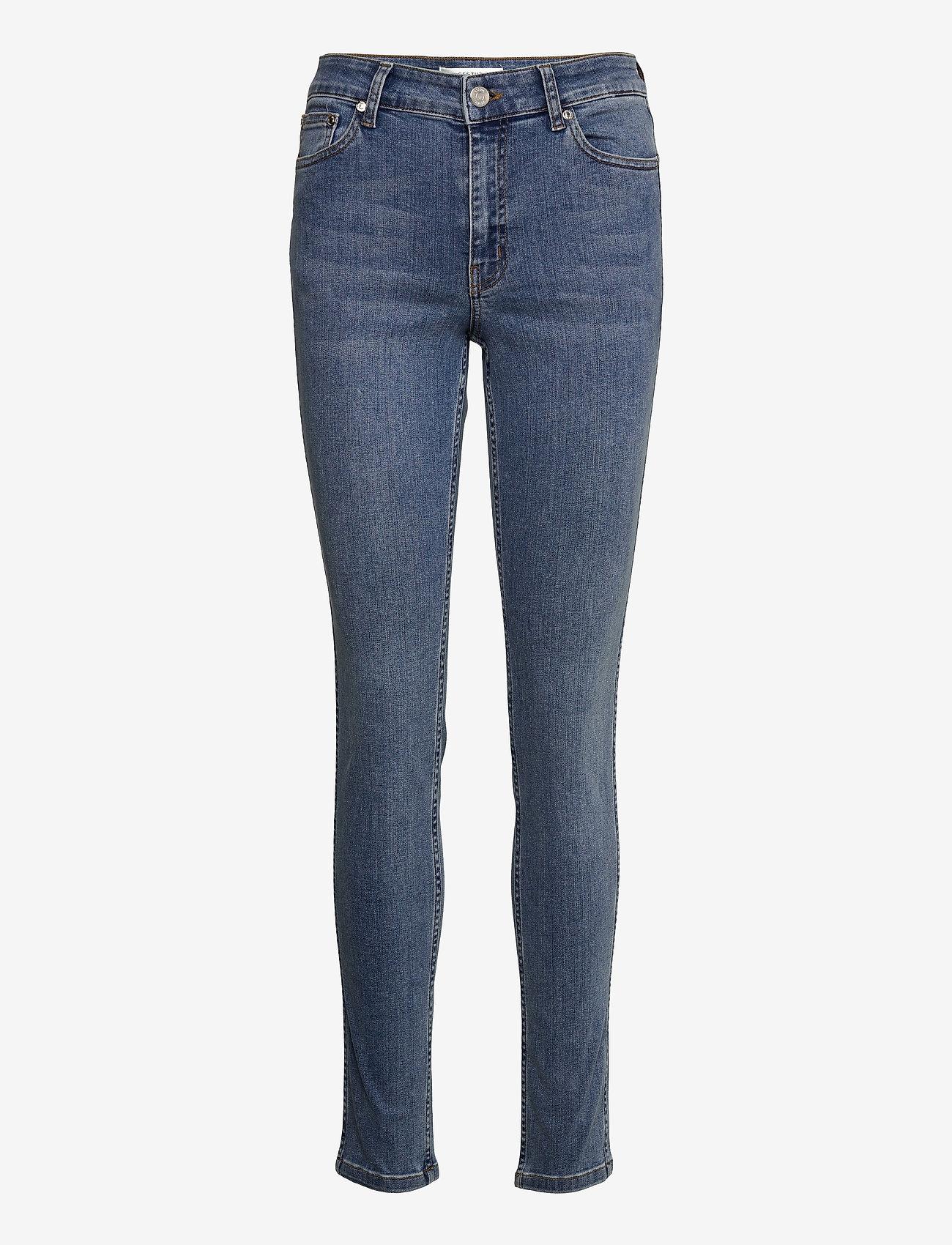 Gestuz - MaggieGZ MW skinny jeans NOOS - skinny jeans - l.a. blue - 1