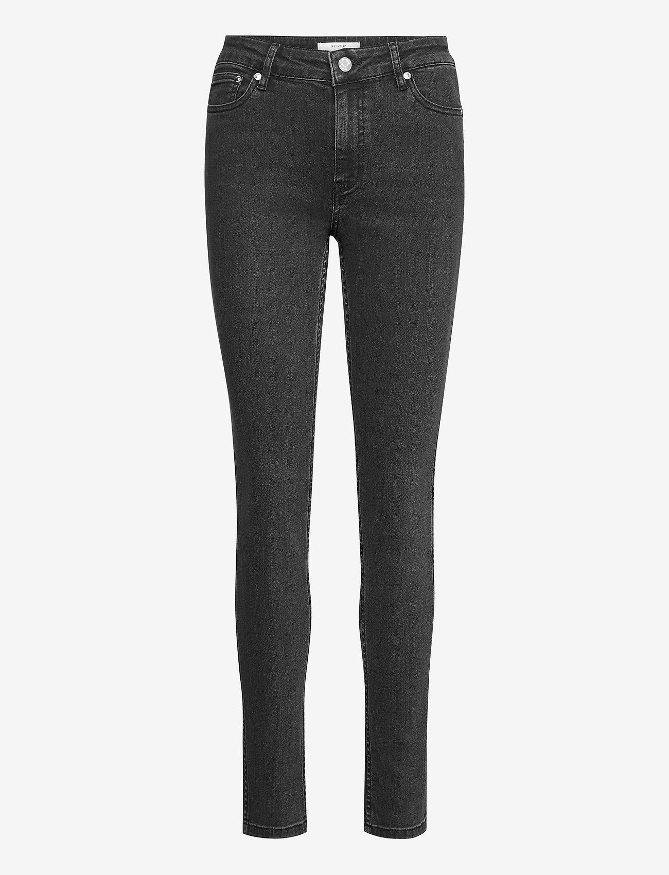 Gestuz - MaggieGZ MW skinny jeans NOOS - skinny jeans - washed grey - 1