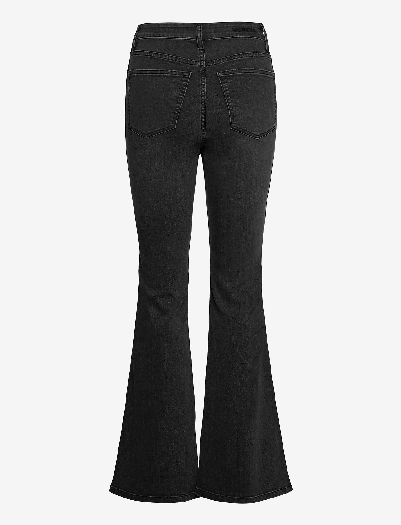Gestuz - EmilindaGZ HW flared jeans NOOS - schlaghosen - washed grey - 1