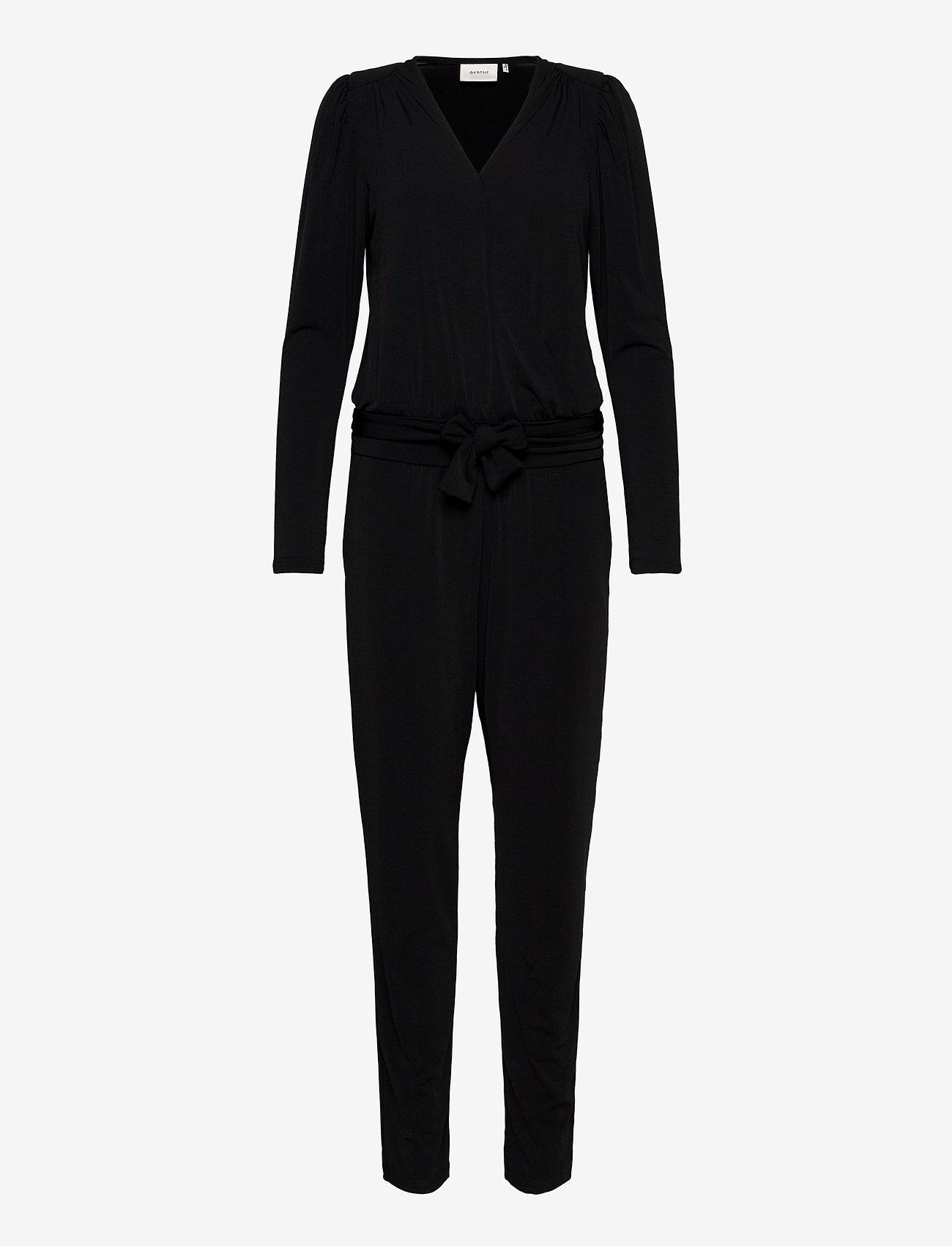 Gestuz - LaugaGZ jumpsuit BZ - jumpsuits - black - 0