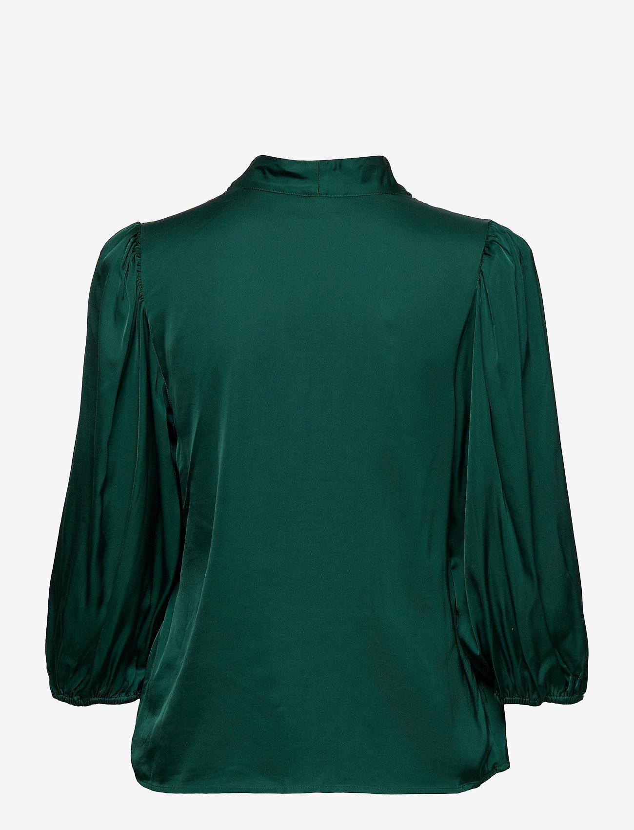 Gestuz - NadjaGZ blouse BZ - langærmede bluser - rain forest - 1