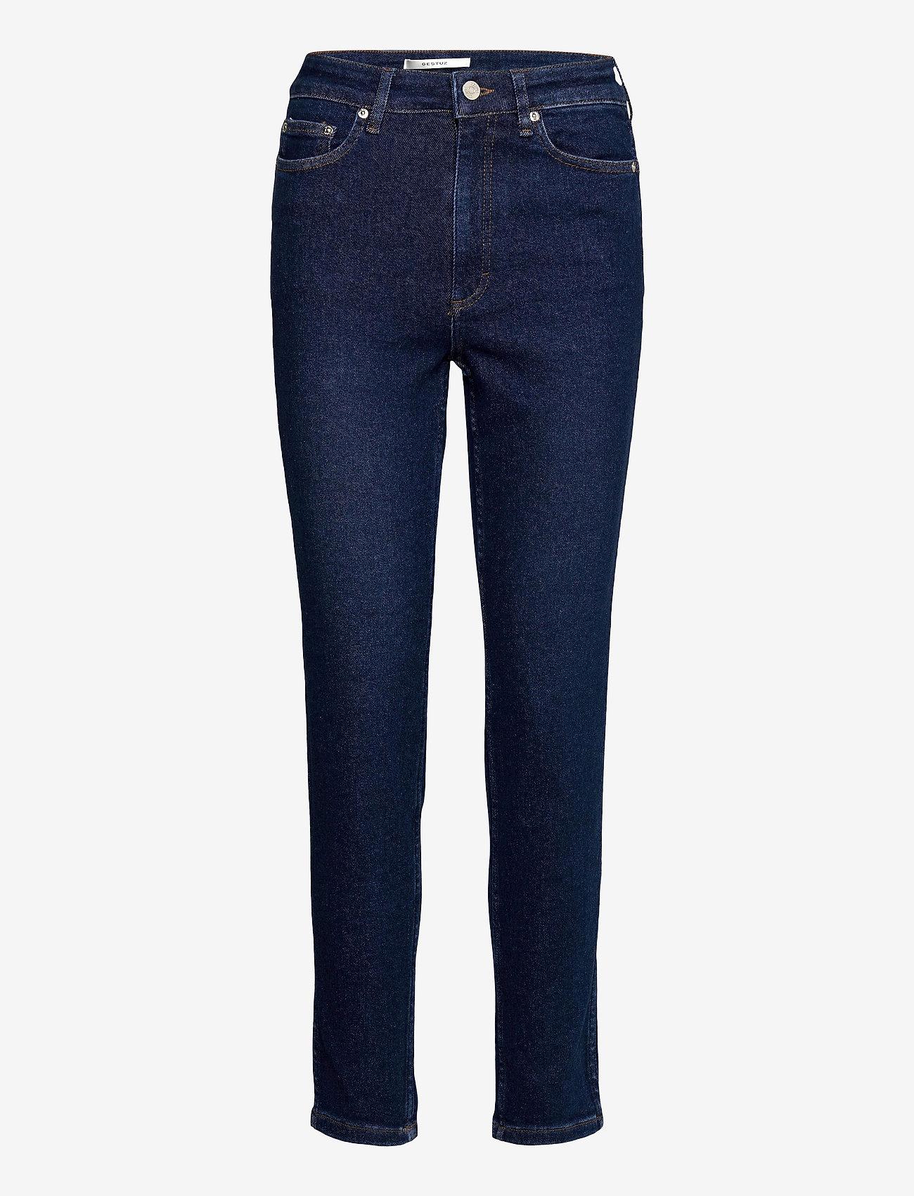 Gestuz - AstridGZ HW slim jeans NOOS - slim jeans - denim blue - 1