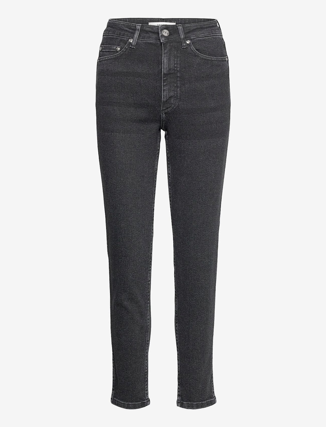 Gestuz - AstridGZ HW slim jeans NOOS - slim jeans - washed black - 1