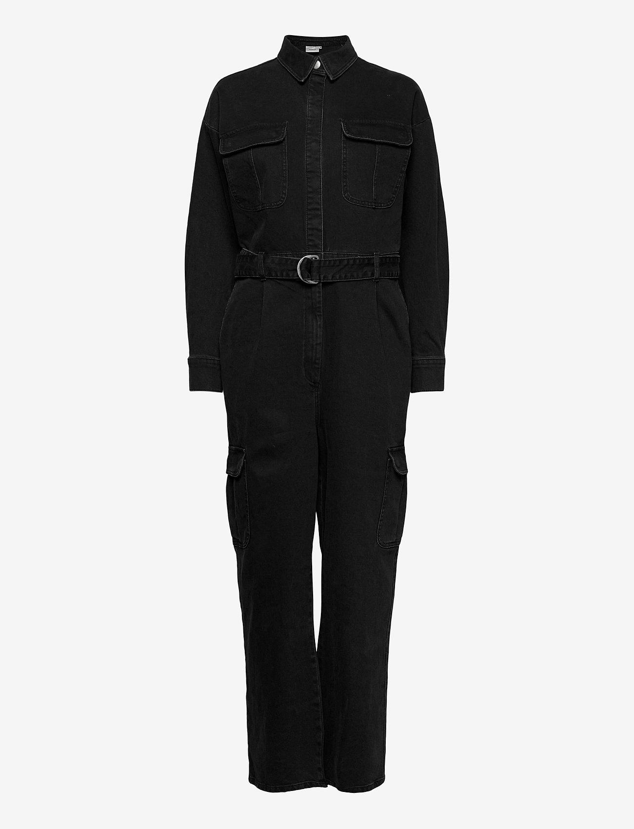 Gestuz - SofyGZ jumpsuit MA20 - kleding - washed black - 0