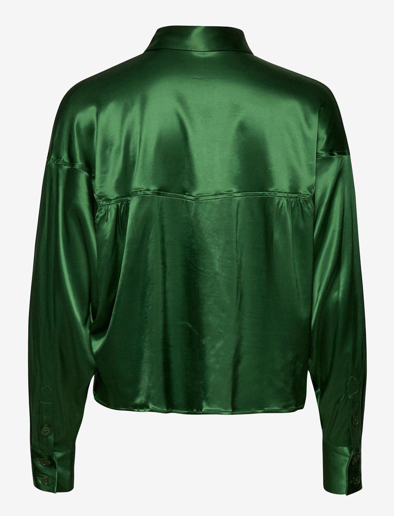 Gestuz - TikkiGZ shirt MA20 - blouses à manches longues - deep green - 1