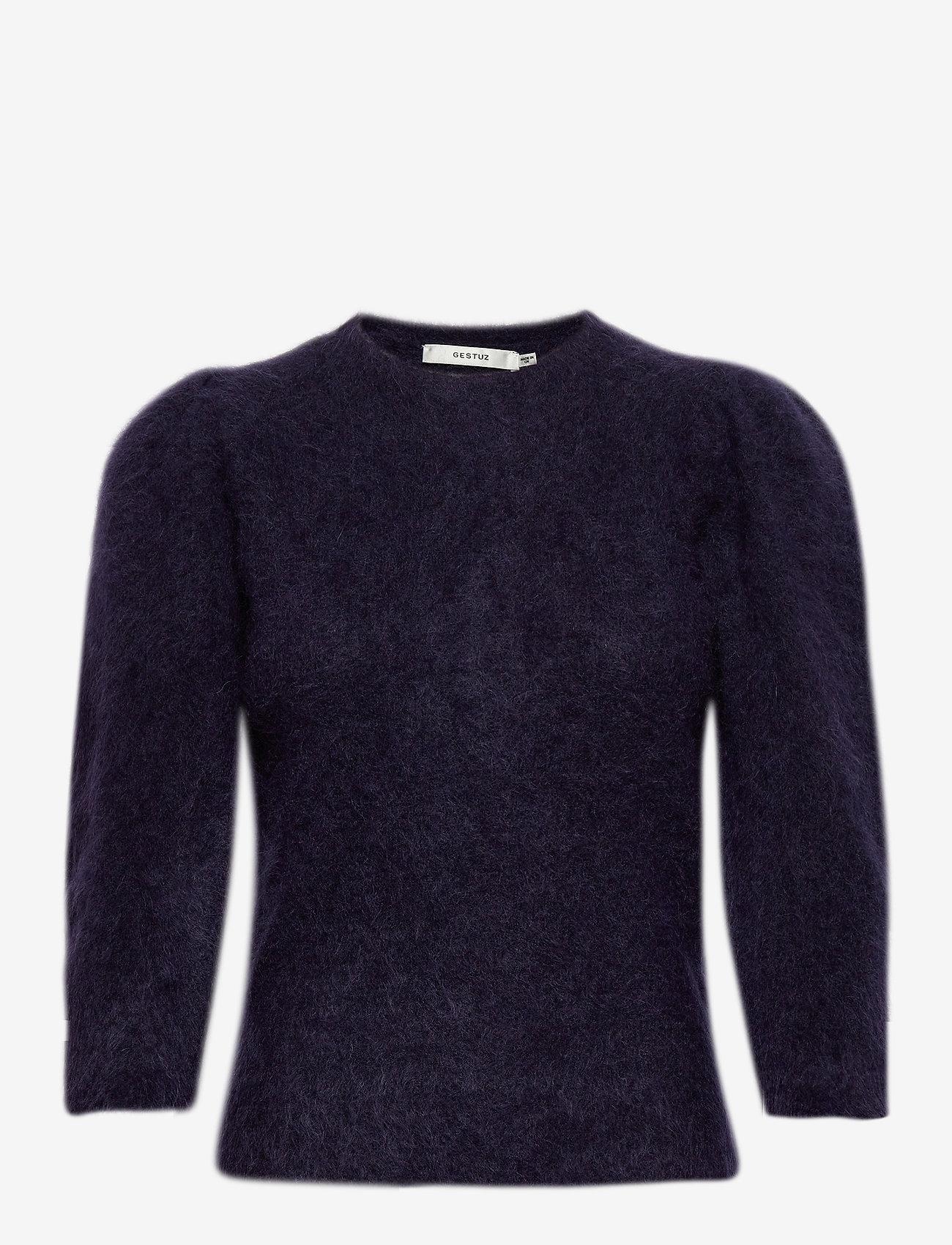 Gestuz - JisaGZ pullover MA20 - trøjer - peacoat - 0